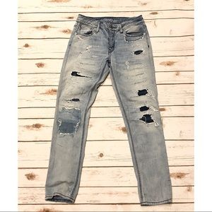 AEO Tomgirl Jeans Size 0